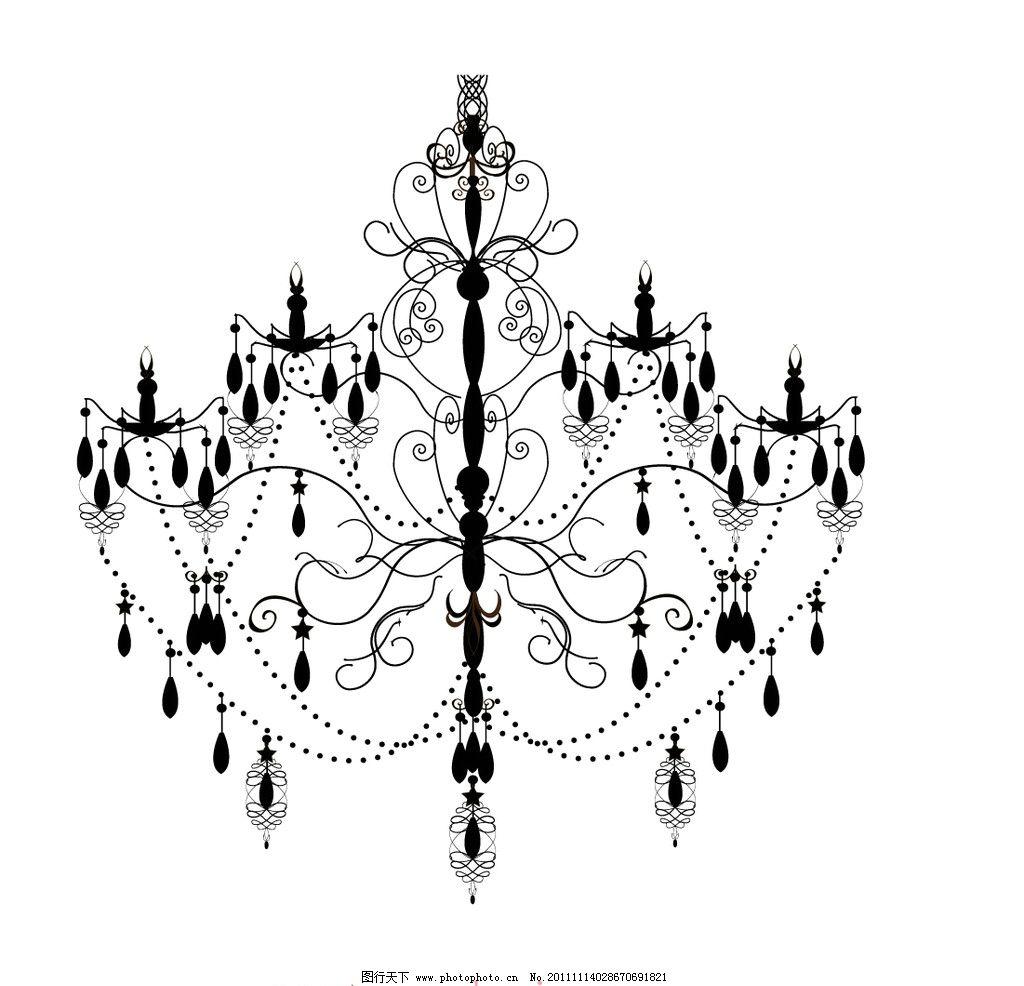 欧式闪亮水晶枝形吊灯图片