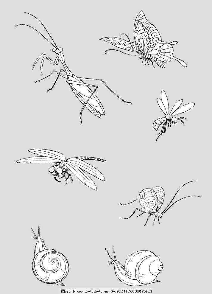 蟋蟀简笔画 步骤 漂亮