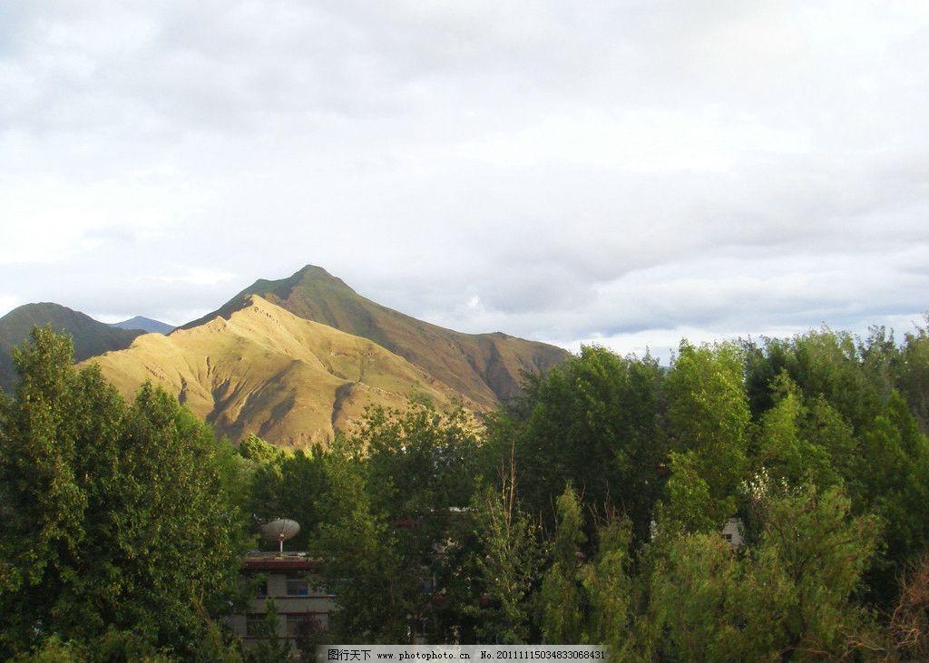 自然风景 蓝天 白云 树木 树 自然风光 风光照片 山 自然景观 摄影 72