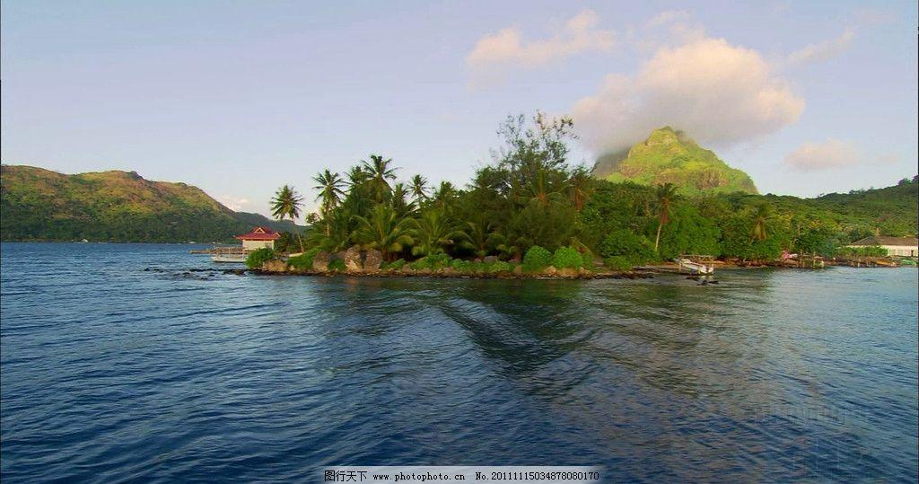 海水 岛屿 摄影 摄影图库 自然景观 bmp 风景 天空 云彩 自然风景