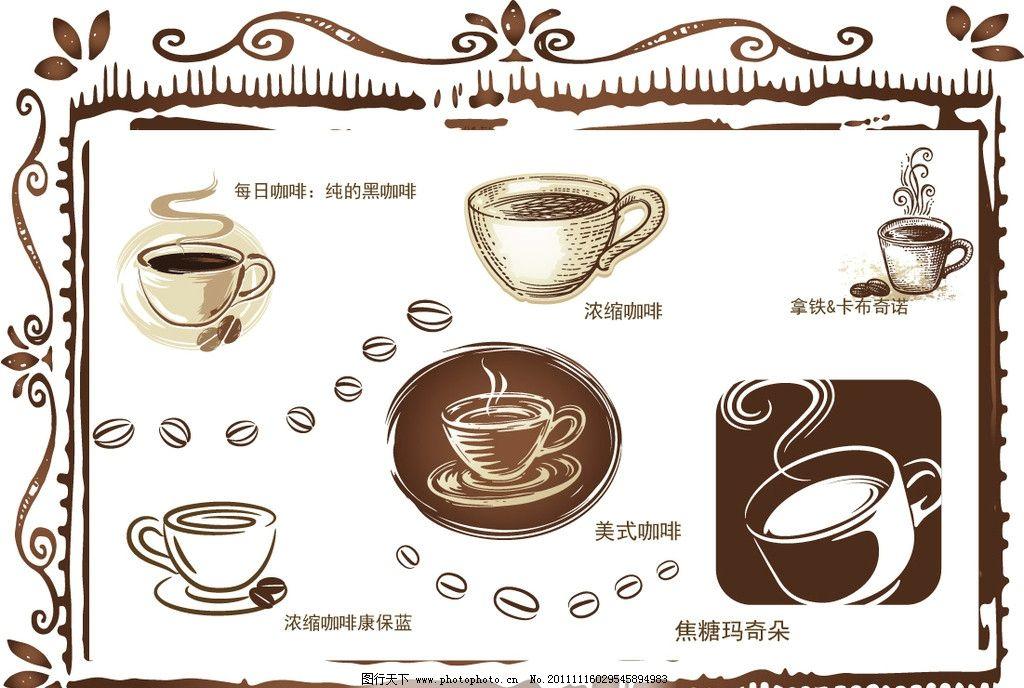 ppt简约欧式背景咖啡