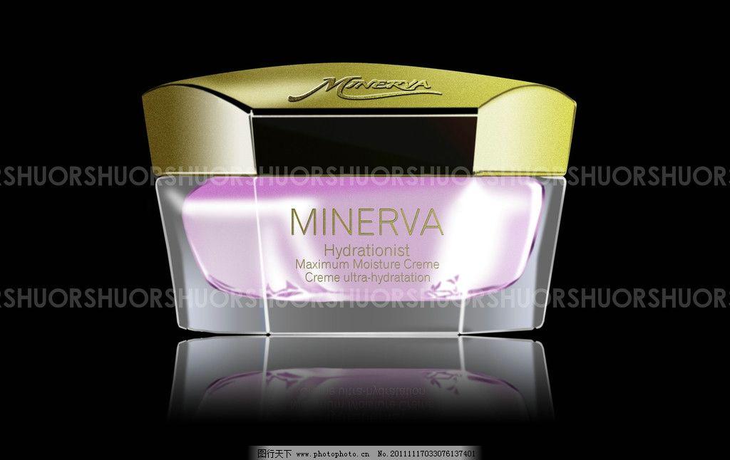 化妆品面霜瓶身设计图片