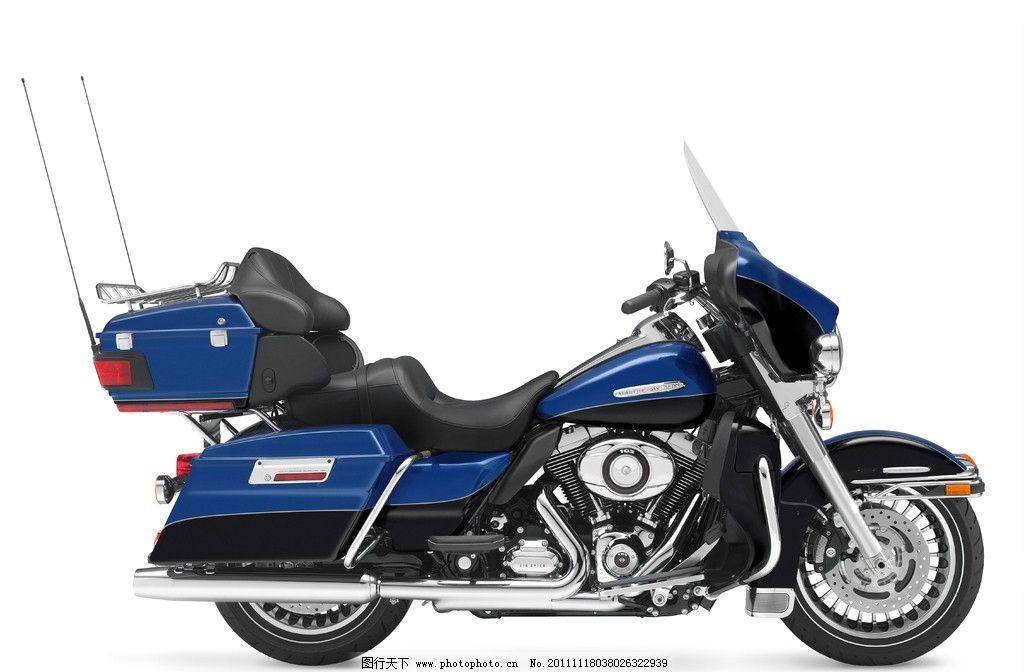 摩托车 哈雷摩托车 重型摩托车 双缸发动机 双排气管 电子点火 防盗