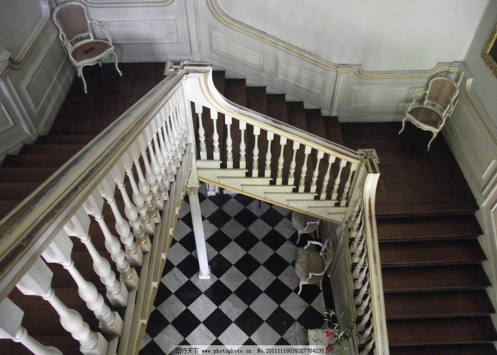 室内欧式风格楼梯图片