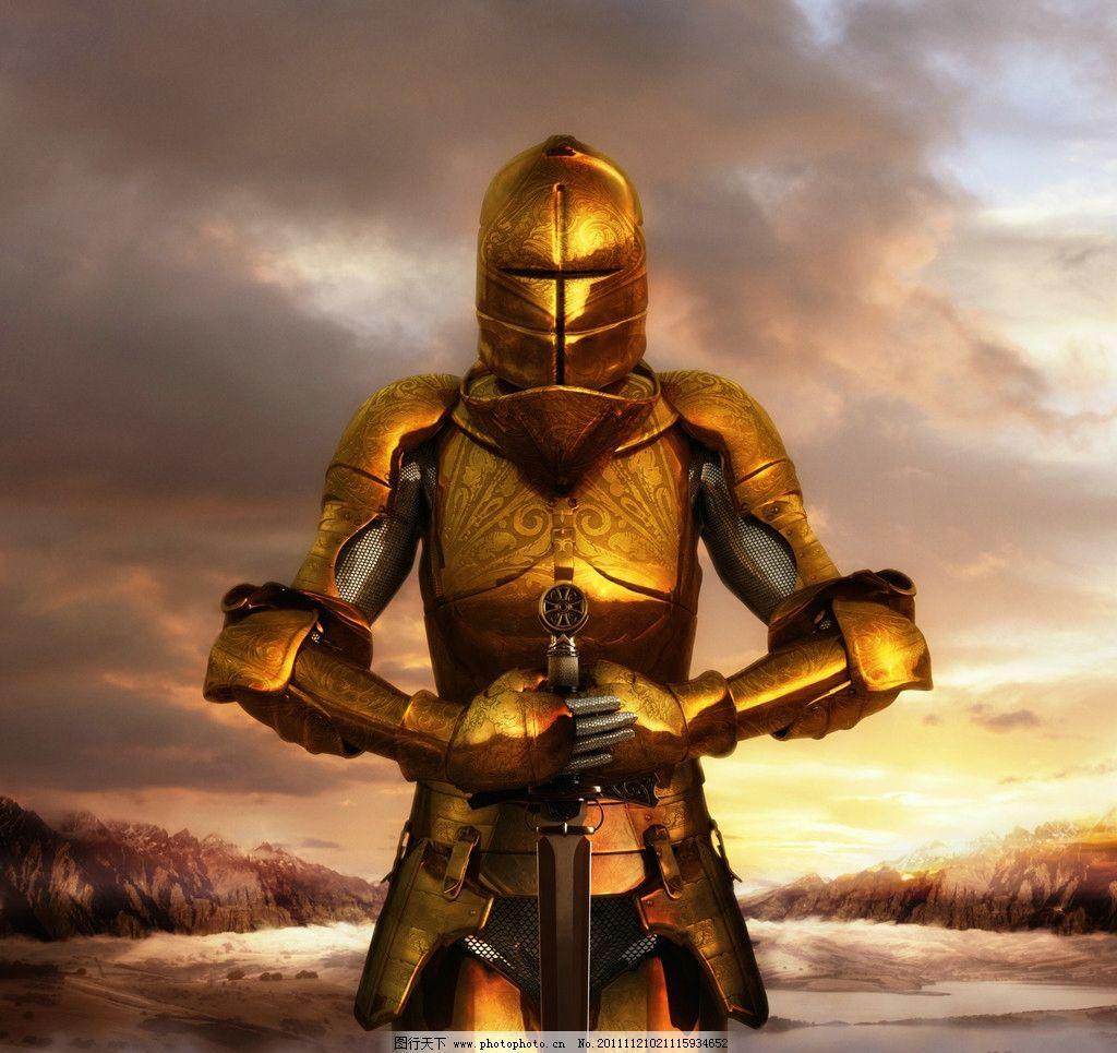 骑士盔甲 晚霞 金色 骑士 盔甲 口袋帝国 游戏 3d作品 3d设计 设计 30