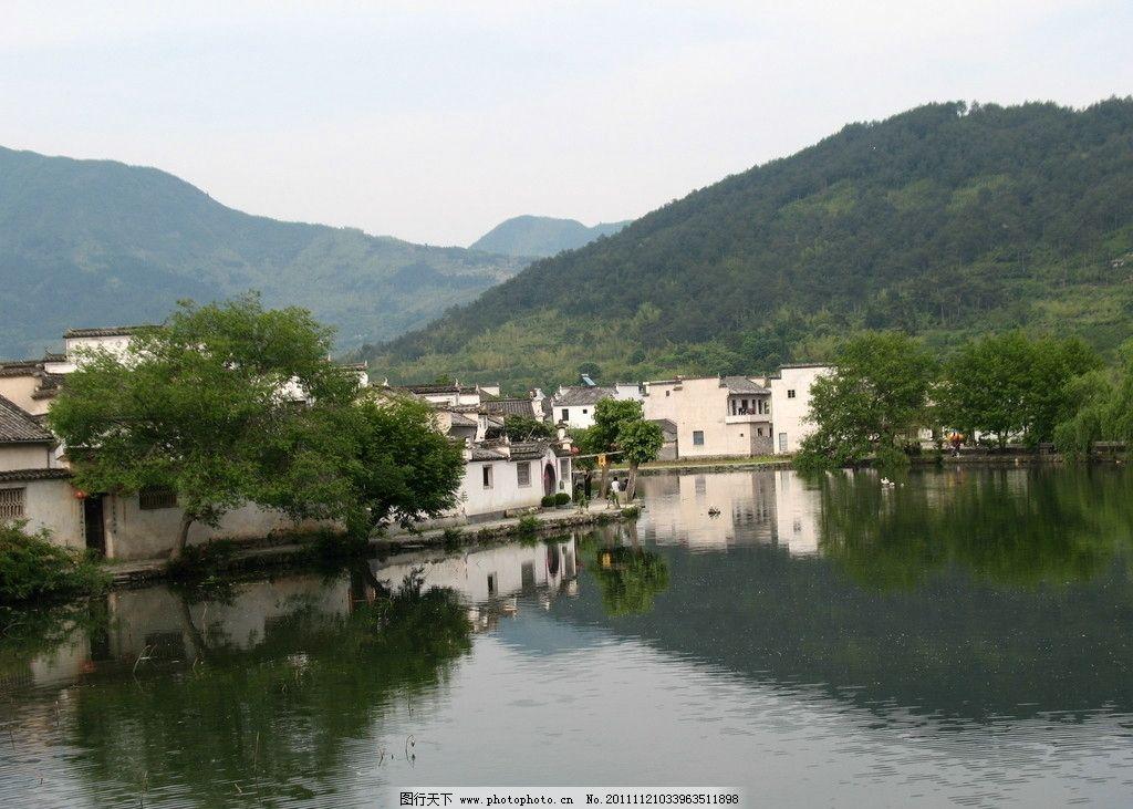 宏村 西递 清代民居 风景 国内旅游 摄影