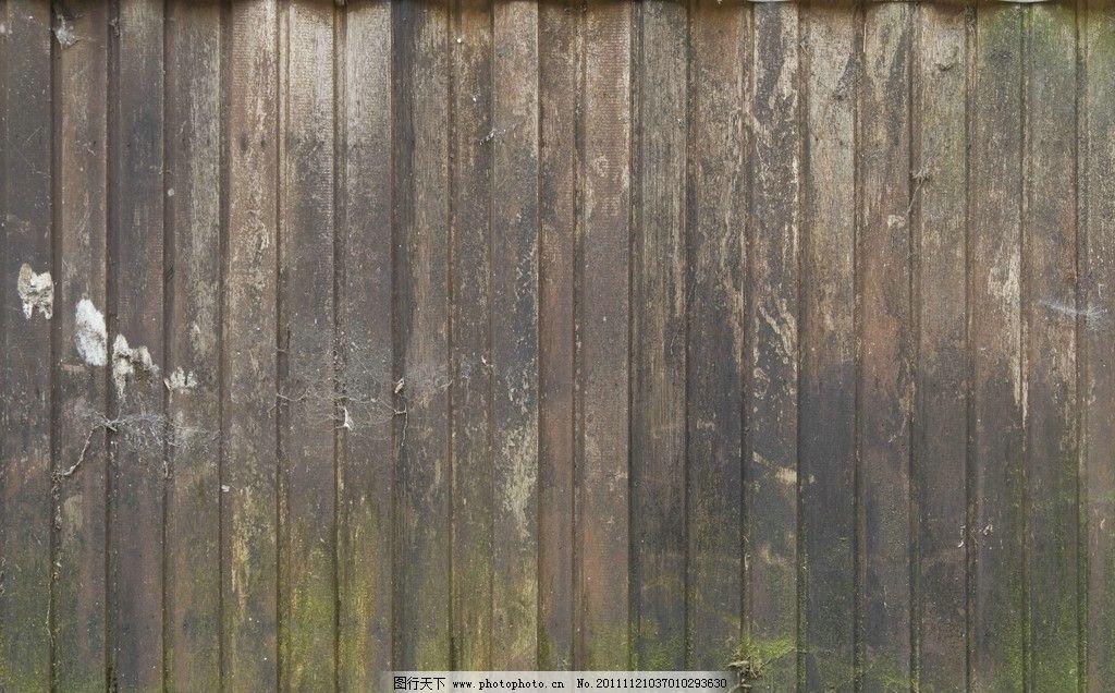 木头 木纹 木板 青苔 生活素材
