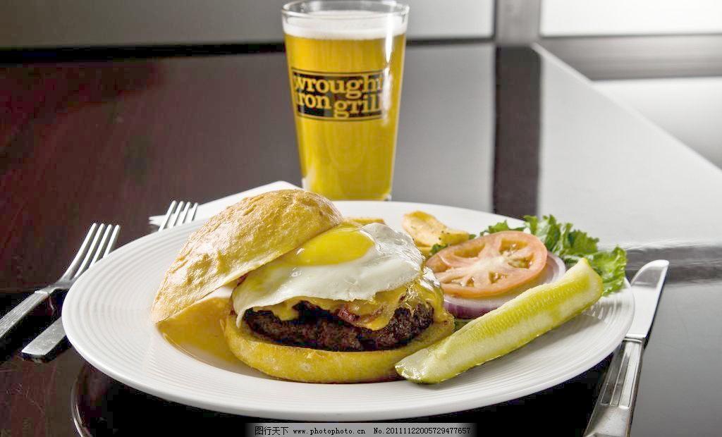 啤酒 西餐图片素材下载 西餐 西式快餐 西餐厅 美食特写 餐台 西餐