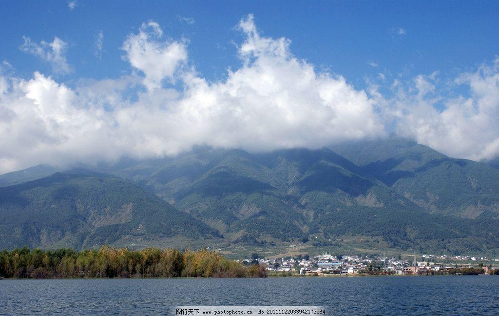 云南 风景/云南洱海风景图图片