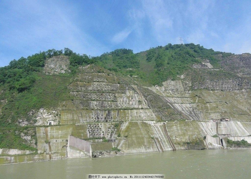 都江堰水利图片