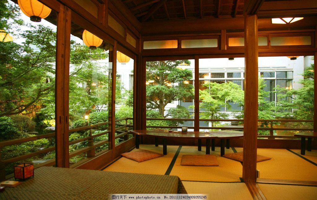私人花园会所茶室效果图图片