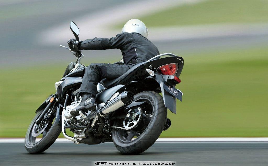铃木 摩托车 摄影