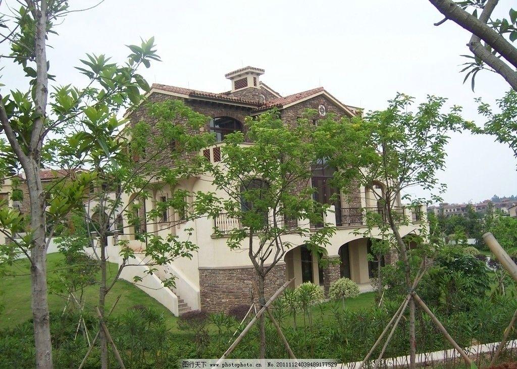 别墅风景图片