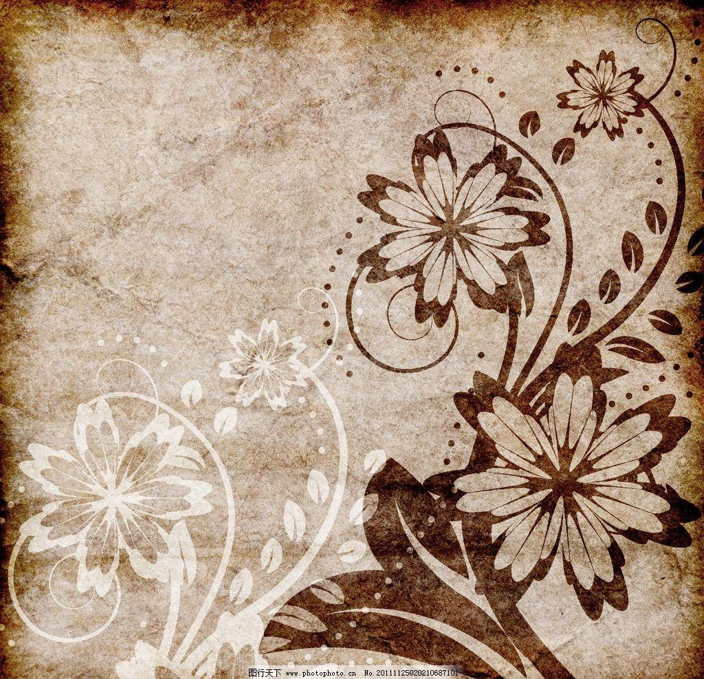 怀旧背景 复古怀旧背景 纹理 花纹 纹路 肌理 质感 欧式花纹