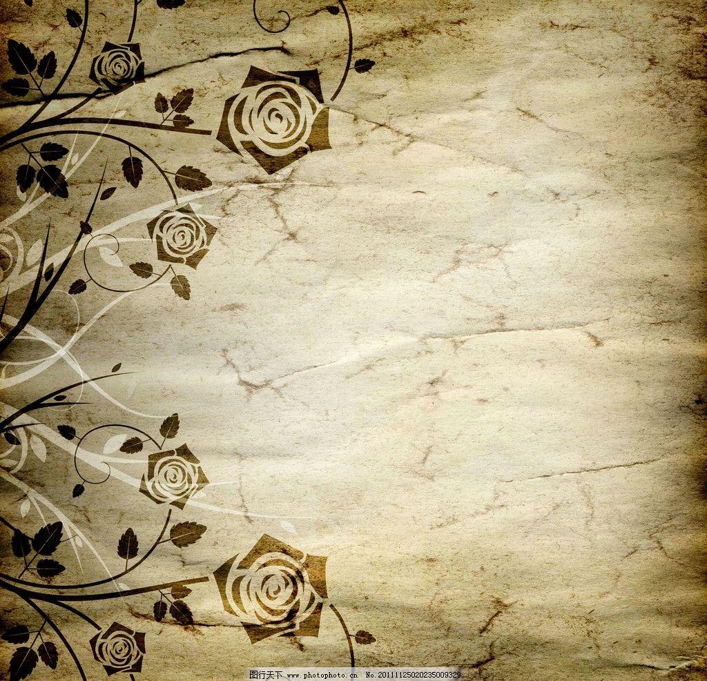 怀旧背景 背景底纹 纹理 花纹 纹路 肌理 质感 复古 欧式花纹 纸张