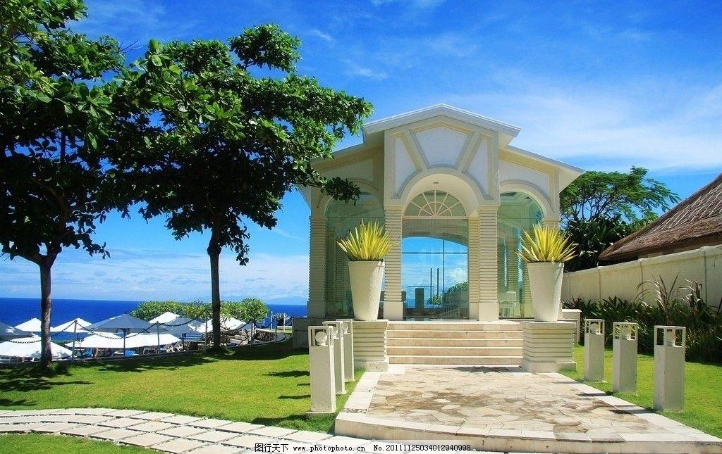 玻璃教堂 巴厘岛 蓝点酒店 国外旅游 摄影