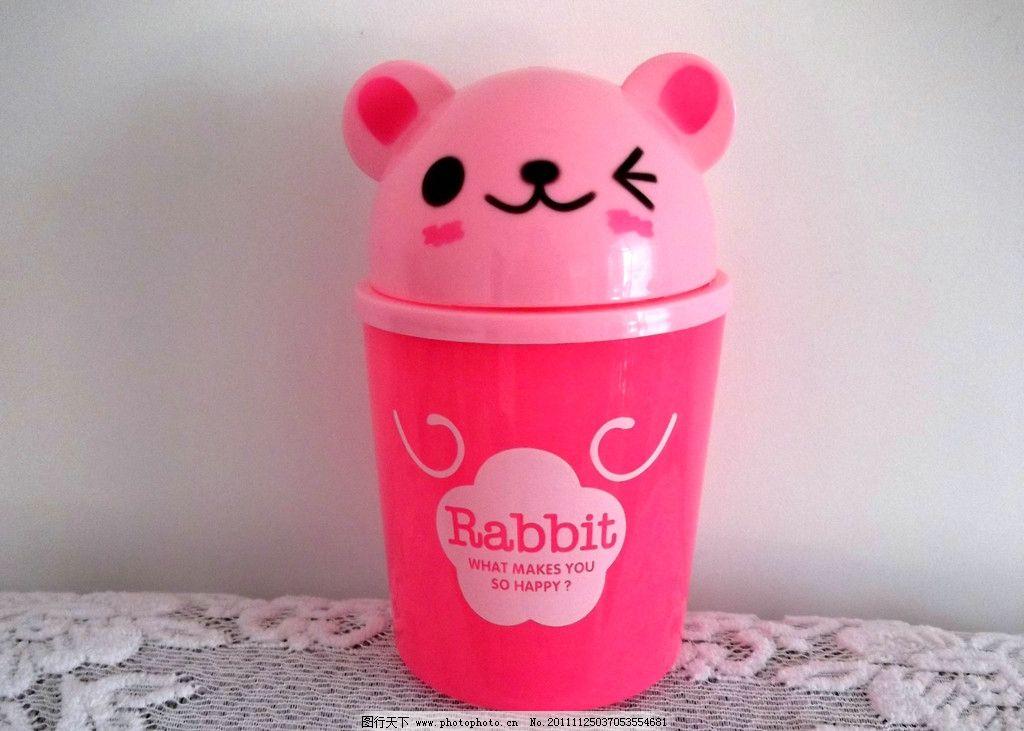 可爱小熊垃圾桶图片