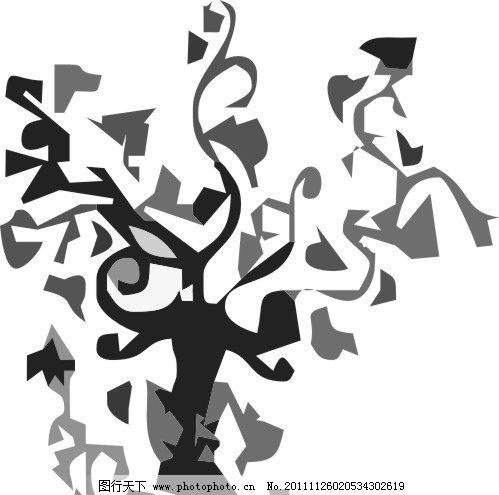 线树 树 树木 底纹 素材 条纹 线条 矢量底纹 素纹 条纹线条 底纹边框
