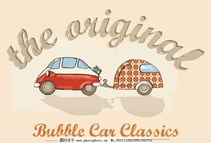 小汽车 童装图案 汽车 卡通图案 字母汽车 卡通 卡通设计 广告设计