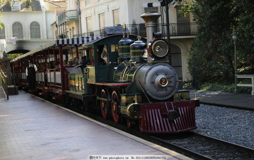 迪士尼小火车图片