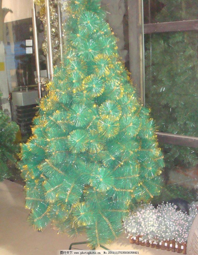 圣诞树 礼品鲜花店 景观绿花 绿叶 黄色 其他装饰鲜花 树木树叶 生物