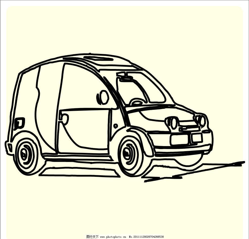汽车素材 吉普 车 cdr文件 其他设计 广告设计 cdr 的士 小车 小轿车