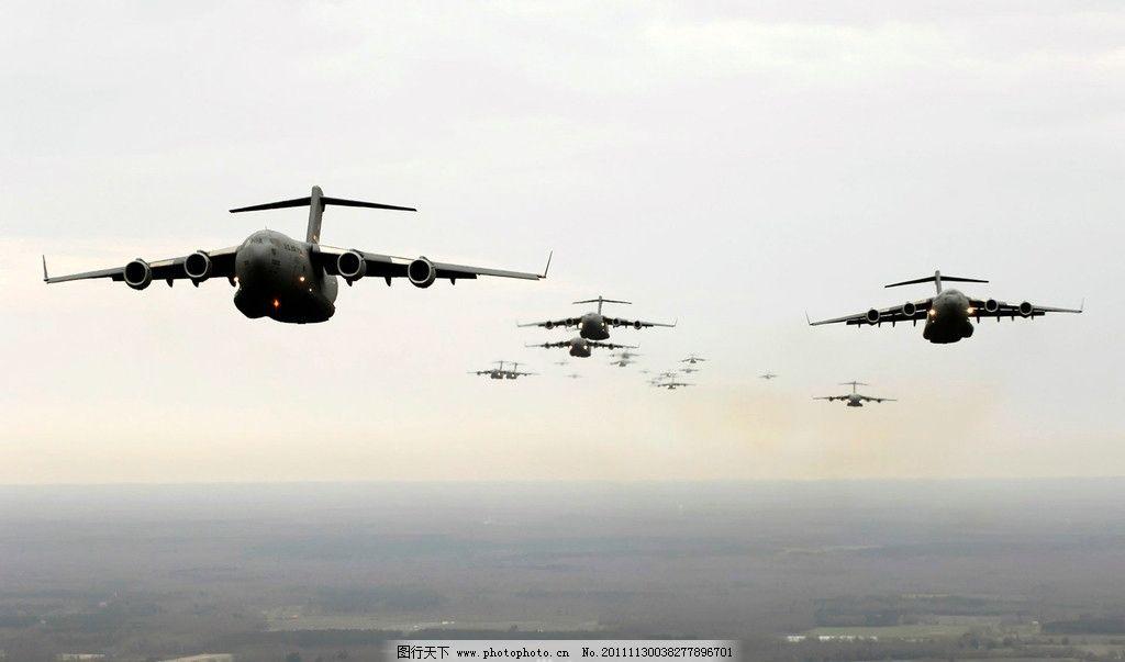战斗机群 飞机群