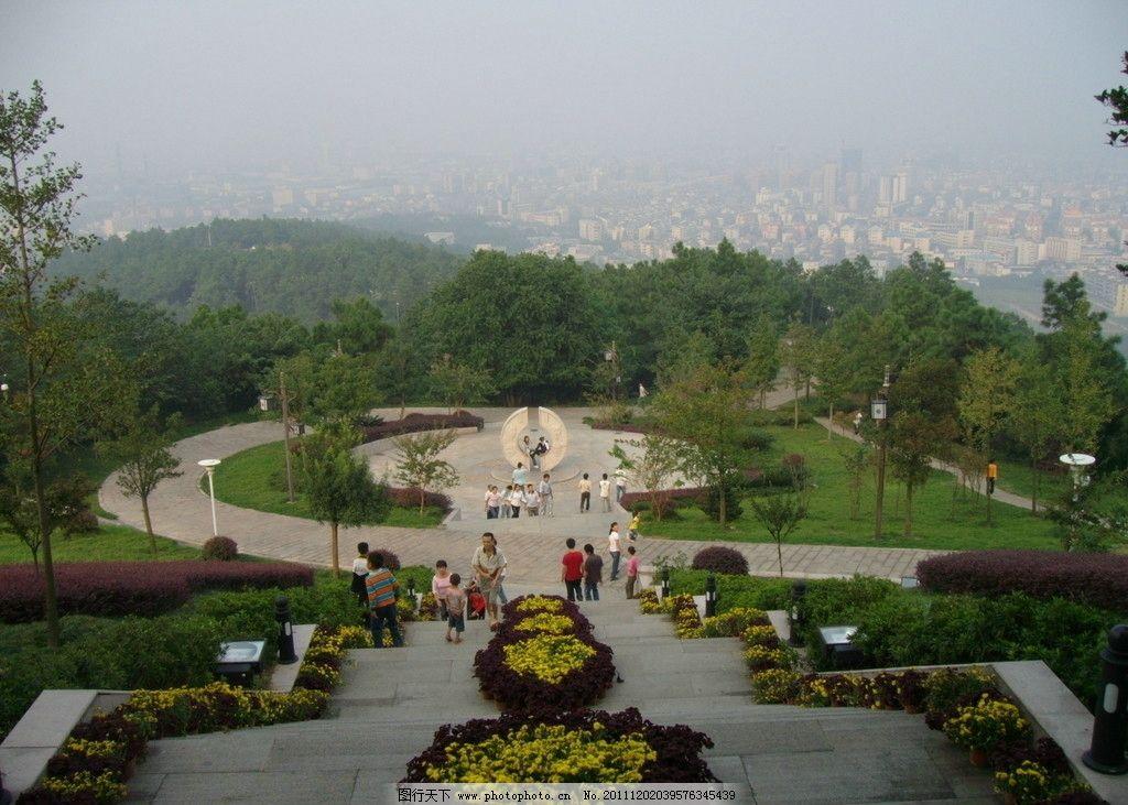 临平公园 居高临下 浙江杭州 风景名胜 自然景观 摄影 96dpi jpg