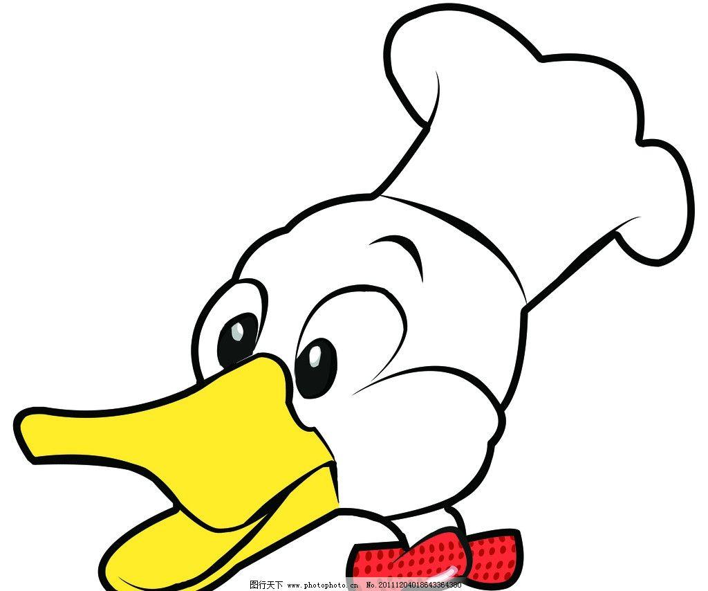 卡通鸭头 卡通 鸭子 其他 动漫动画 设计 120dpi jpg图片