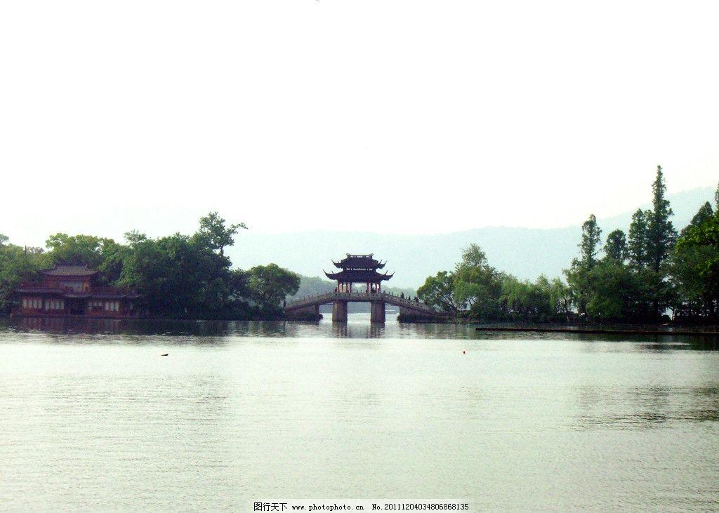 曲院风荷 西湖 浙江杭州 风景名胜 自然景观 摄影 72dpi jpg