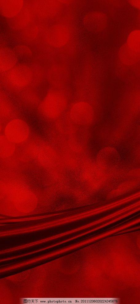 红色艳丽背景图片