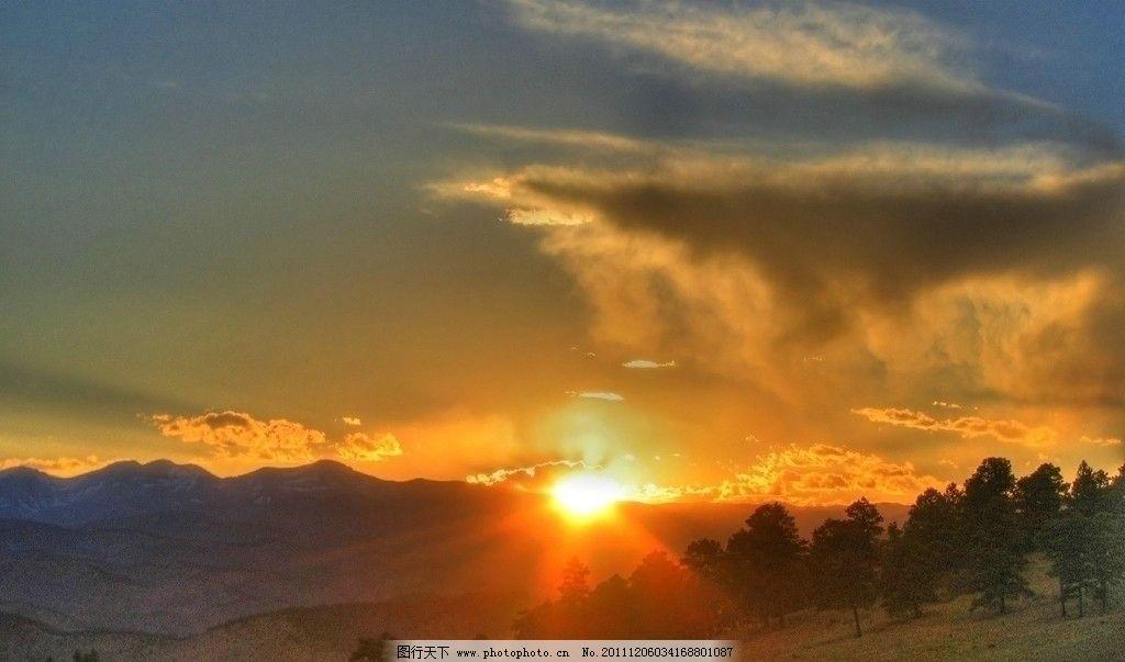 日出 初春日出 落日黄昏 大自然美景 太阳晨光 自然风景 旅游摄影
