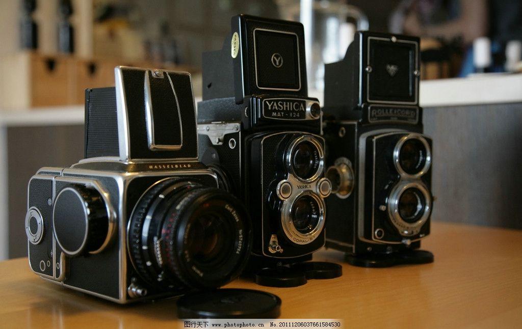 老式胶片照相机图片