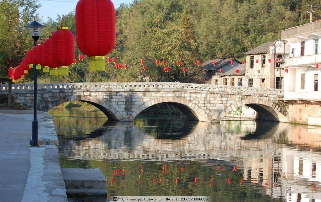 汀泗古桥 古桥 江南水乡 三孔桥 古镇 园林建筑 建筑园林 摄影 300dpi