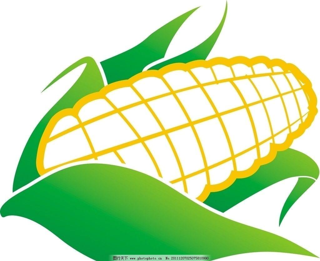 玉米 矢量 cdr 蔬菜 生物世界