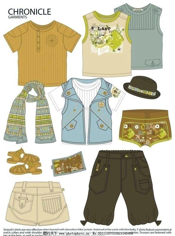 童装图案款式设计手稿流行服饰图片