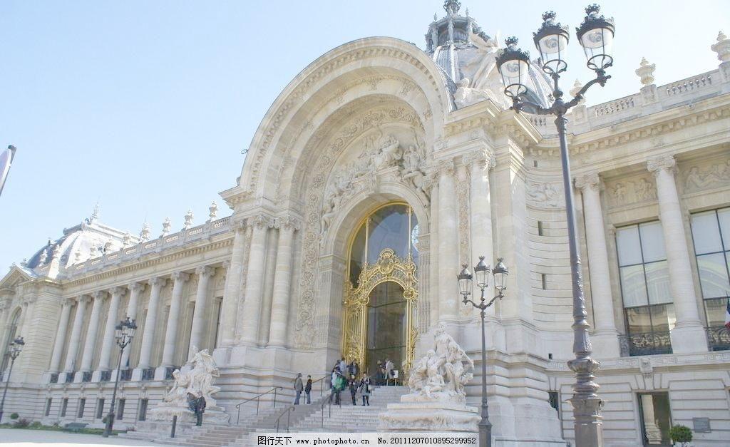 欧式建筑 大厅 建筑景观 教堂 街灯 旅游 摄影 西班牙 欧式建筑图片