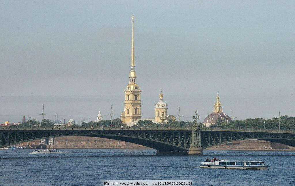 圣彼得堡城市自然风光