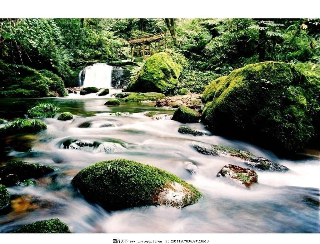 瓦屋山 森林公园 流水 原始 方山 杜鹃花王国 国内旅游 旅游摄影 自然图片