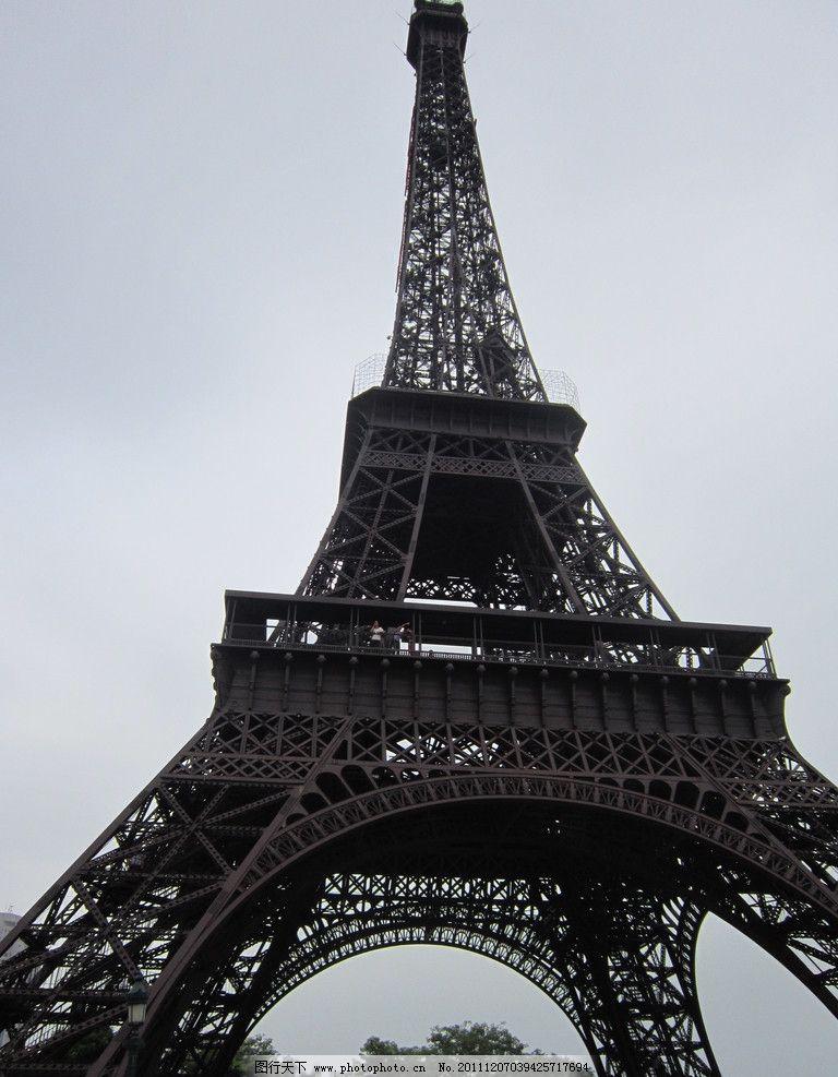 埃菲尔铁塔 建筑摄影 建筑园林