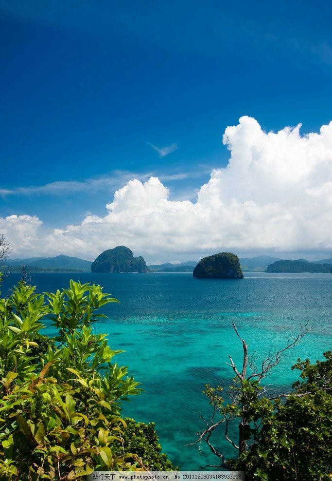 菲律宾巴拉望度假旅游风景图片