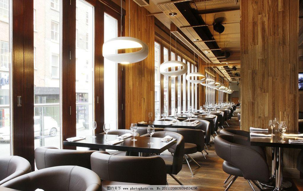 內部 裝修 設計 豪華 落地窗 街景 桌椅 雙人座位 溫馨 室內攝影 建筑