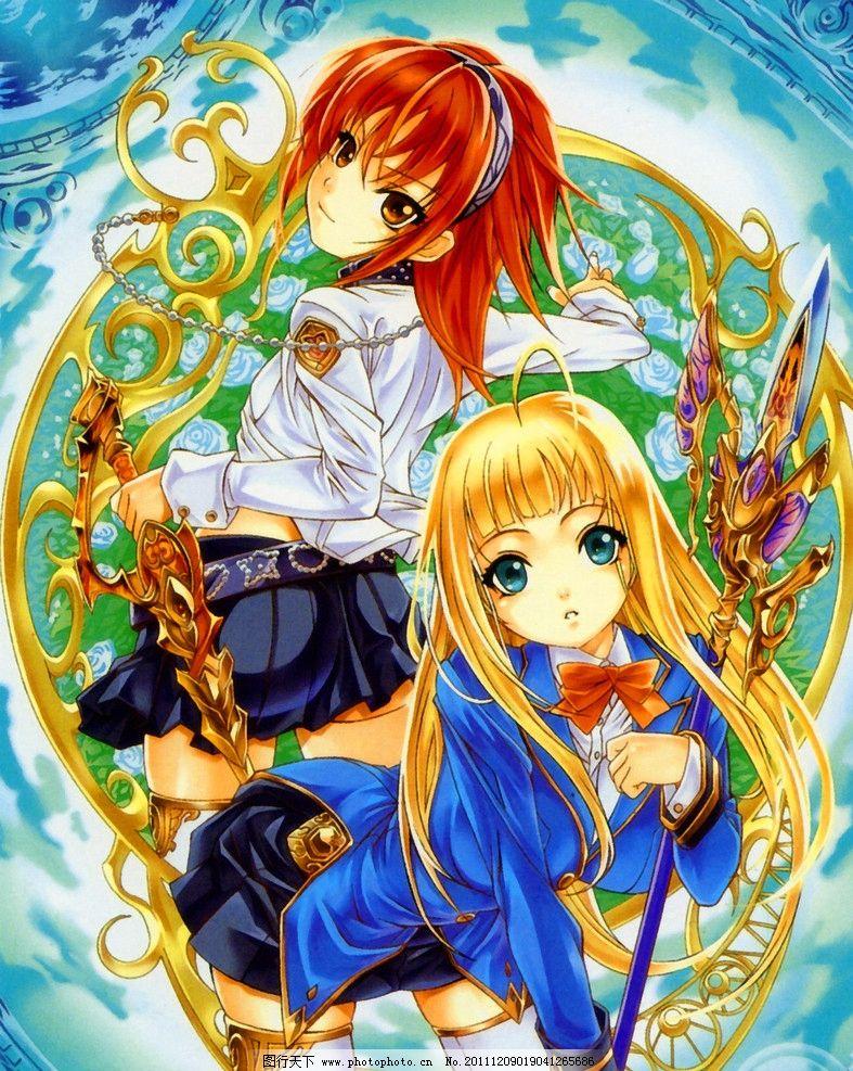 战士 玄幻 女孩 卡通 绘本 手绘 艺术 油画 趣味 儿童画 绘画 插图 萌