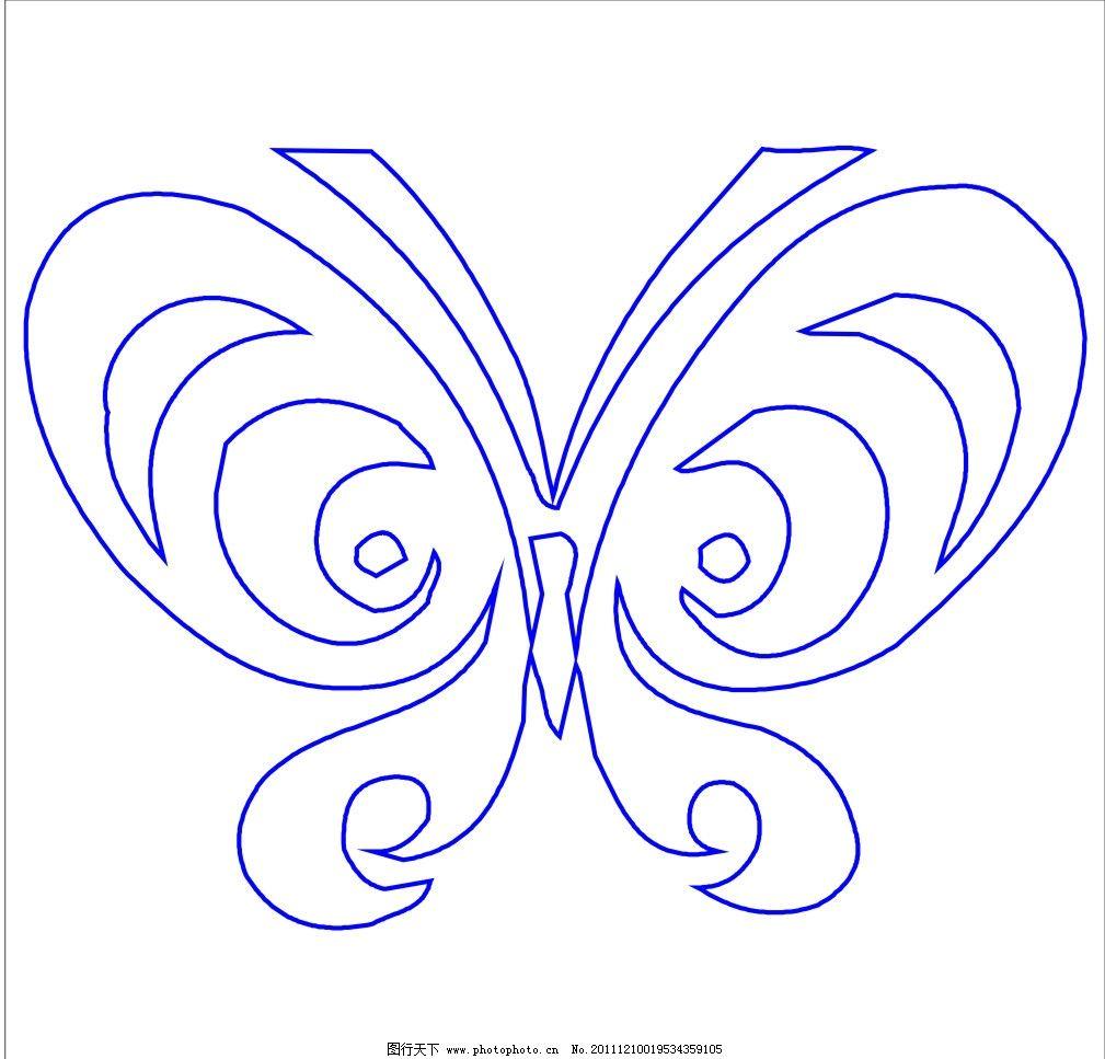 蝴蝶 手绘蝴蝶 昆虫 生物世界 矢量 其他 文化艺术 cdr
