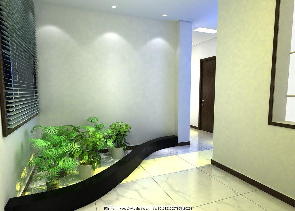 入户花园 造型 吊顶 空间设计 百叶窗 窗户 窗景 室内植物 室内设计