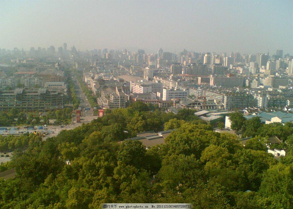 吴山天风 杭城 浙江杭州 风景名胜 自然景观 摄影 72dpi jpg