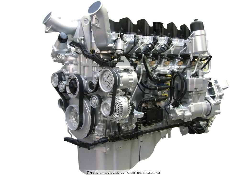 汽车发动机图片