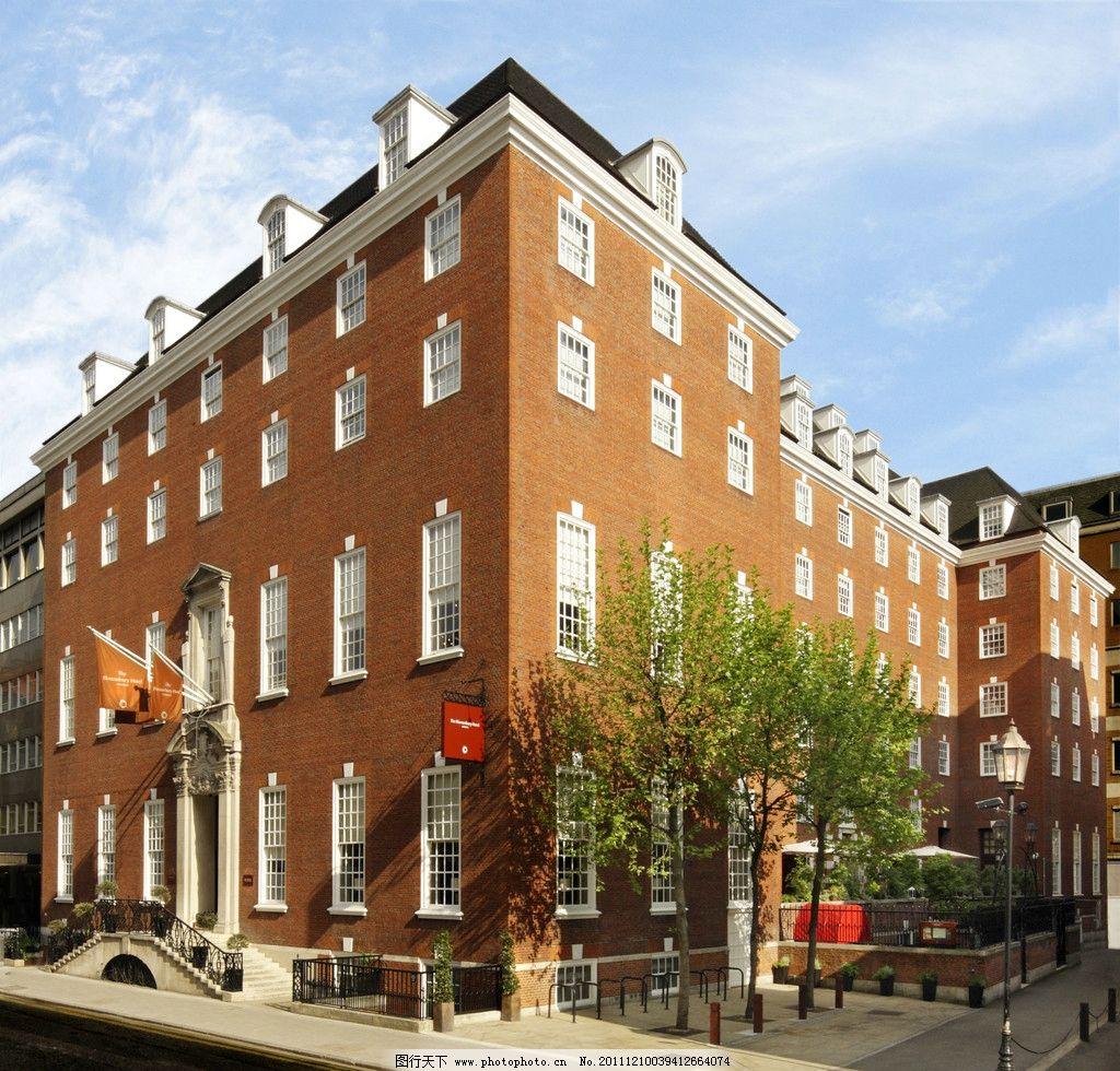国外公寓楼房 宾馆 欧式风格 街道 建筑摄影 建筑园林