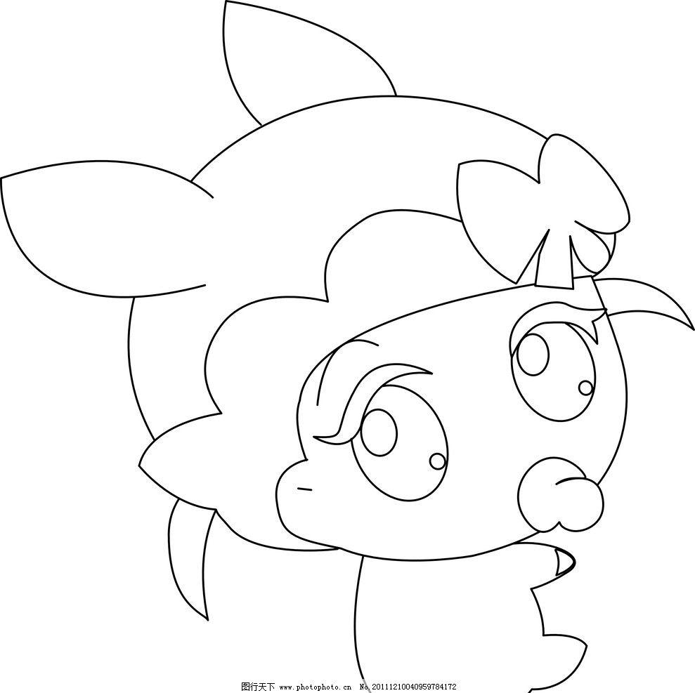 幼儿漫画手绘 画