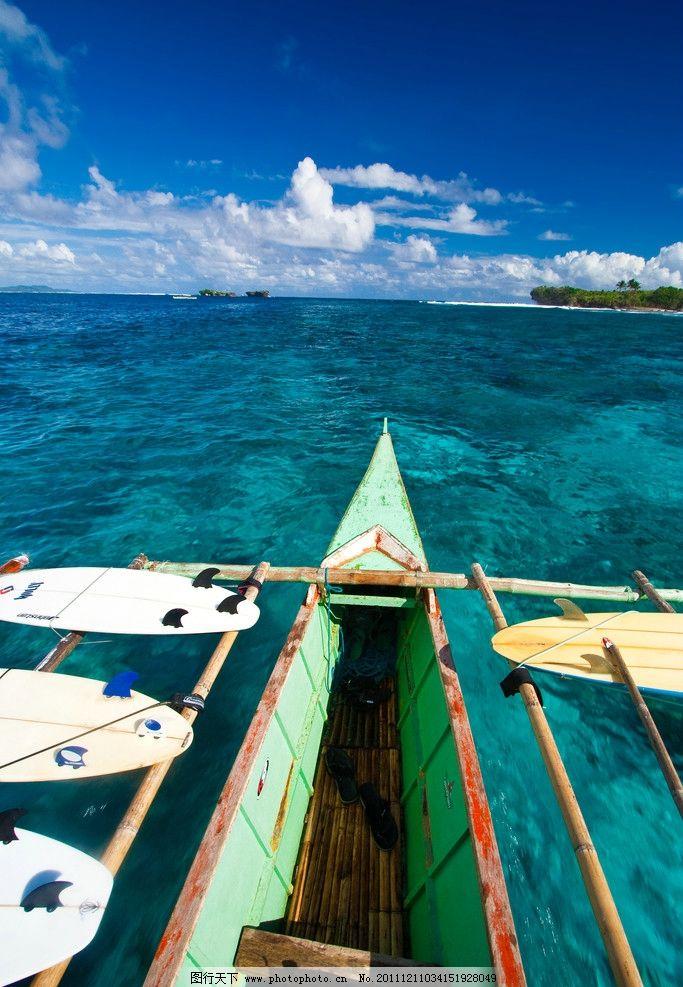 旅游风景 菲律宾 巴拉望 度假 蓝天白云 热带 海水 晶莹 纯净